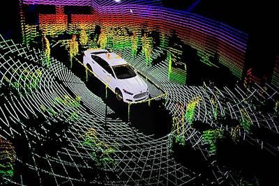 Ford Autonomous Drive Vehicle Art Print by Jim West
