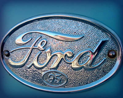 Photograph - Ford by Connie Zarn