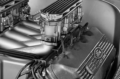 Ford Engine Art Print