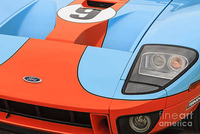 Photograph - Ford Gt by Dennis Hedberg