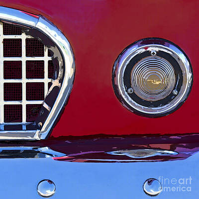 Ford Thunderbird Art Print by Elena Nosyreva