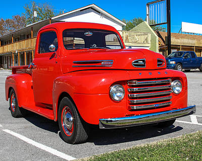 Photograph - Ford Truck by Robert L Jackson