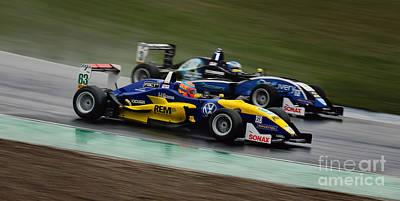 Jdm Photograph - Formel 3 by Martin Slotta
