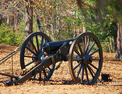 Photograph - Fort Anderson Civil War Cannon 2 by Jocelyn Stephenson