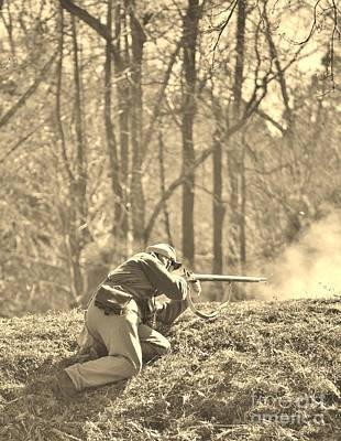 Photograph - Civil War Photography In Sepia by Jocelyn Stephenson