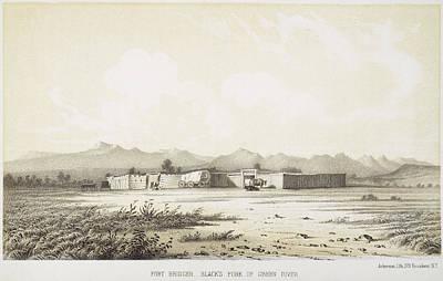 Wyoming Painting - Fort Bridger, Wyoming, 1852 by Granger