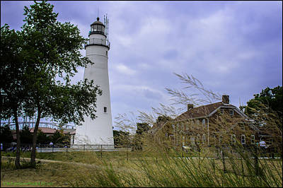 Lighthouse Photograph - Fort Gratiot Light House by LeeAnn McLaneGoetz McLaneGoetzStudioLLCcom