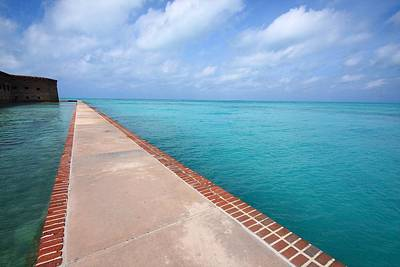 Photograph - Fort Jefferson At Dry Tortugas National Park by Jetson Nguyen