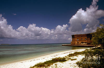 Fort Jefferson  Print by Skip Willits