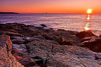New Castle Photograph - Fort Stark Sunrise by Jeff Sinon