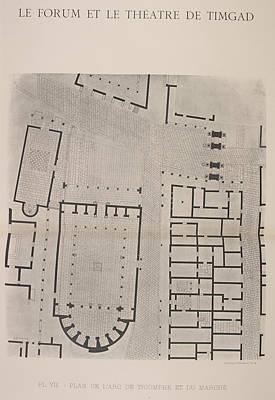 Forum Of Timgad Art Print