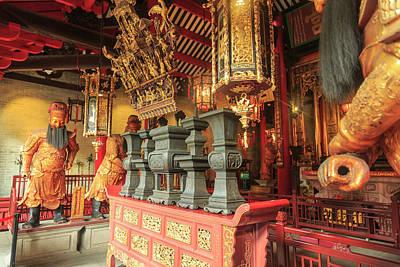 Ancestrals Photograph - Foshan Ancestral Temple, Foshan, China by Stuart Westmorland