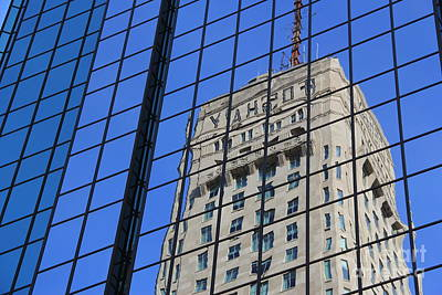 Photograph - Foshay Reflection II by A K Dayton