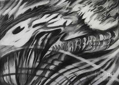 Fossil Spirit Art Print