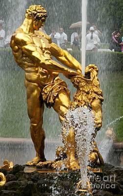 Fountain  Original by Evgeny Pisarev