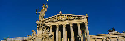 Athena Photograph - Fountain In Front Of A Government by Panoramic Images