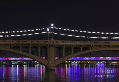 Photograph - Four Bridges And A Lake by Tamara Becker
