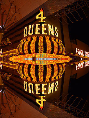 Four Queens 2 Art Print by Michael Anthony