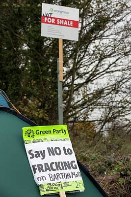 Wrong Photograph - Fracking Protest by Ashley Cooper