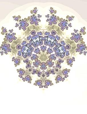 Gina Manley Digital Art - Fractal Kaleidoscope by Gina Lee Manley