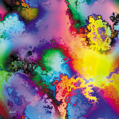 Painting - Fractal Space Storm 4 by The Art of Marsha Charlebois