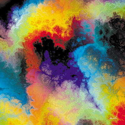Painting - Fractal Space Storm 7 by The Art of Marsha Charlebois