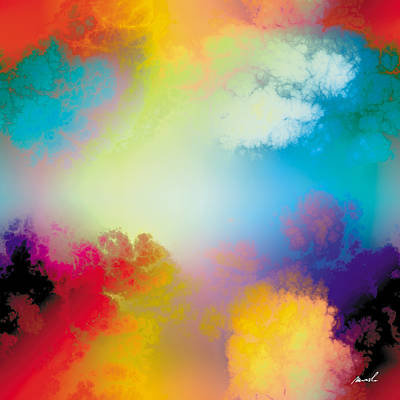 Painting - Fractal Space Storm 8 by The Art of Marsha Charlebois