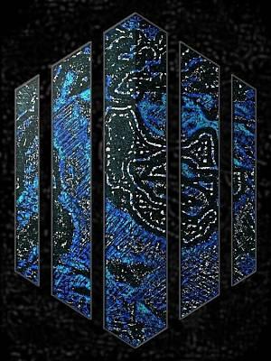 Etc. Digital Art - Framed by HollyWood Creation By linda zanini