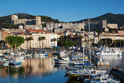 Rossi Photograph - France, Corsica, Ajaccio, City View by Walter Bibikow