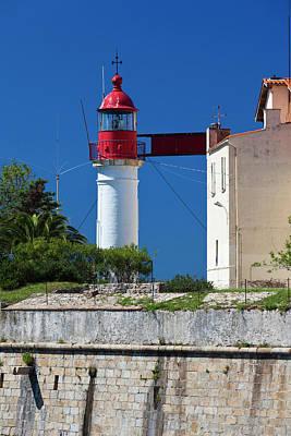 Sud Photograph - France, Corsica, Ajaccio, Port Tino by Walter Bibikow