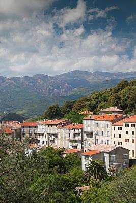 Sud Photograph - France, Corsica, La Alta Rocca by Walter Bibikow
