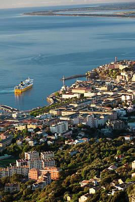 Haute Photograph - France, Corsica, Le Cap Corse, Bastia by Walter Bibikow