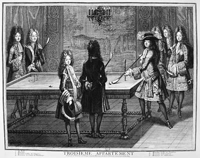 France Court Life, 1690s Art Print by Granger
