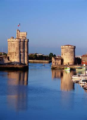 France, La Rochelle, Vieux Port, Tour Art Print