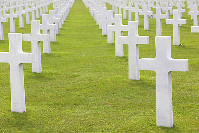 France, Normandy, D-day Beaches Area Art Print