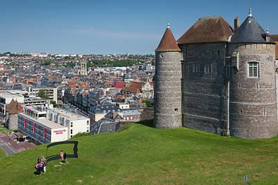 France, Normandy, Dieppe, Dieppe Art Print by Walter Bibikow