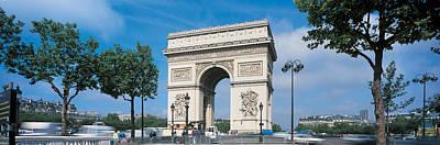 Arc De Triomphe Photograph - France, Paris, Arc De Triomphe by Panoramic Images