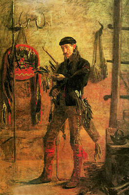 Portriat Photograph - Frank Hamilton Cushing by Thomas Eakins