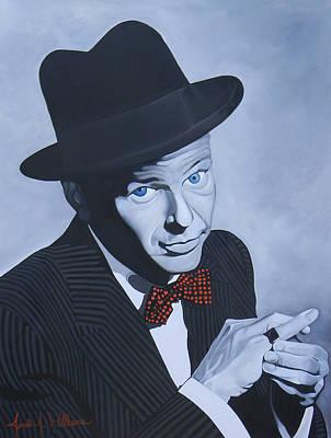 Frank Sinatra Art Print by Jared Wilkins