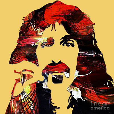 Poster Mixed Media - Frank Zappa Collection by Marvin Blaine