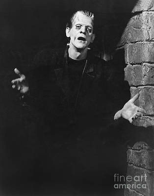 Horror Movies Photograph - Frankenstein by MMG Archive Prints