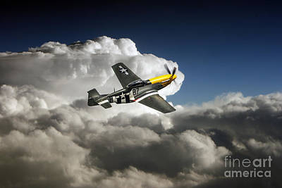 North American P51 Mustang Digital Art - Frankie  by J Biggadike