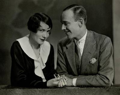 Photograph - Fred And Adele Astaire by Nickolas Muray