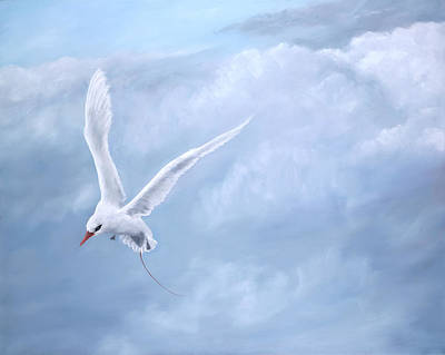 Soaring Painting - Freedom by Dorothea Hyde