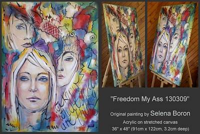 Freedom My Ass 130309 Art Print