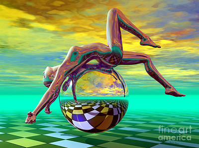 Digital Art - Freedom Of Expression by Sandra Bauser Digital Art