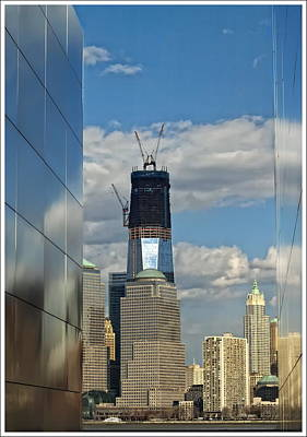 Freedom Tower Art Print by Wayne Gill