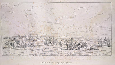 Adam Photograph - French Artillery by British Library
