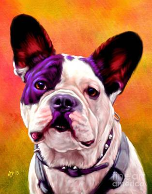 French Bulldog Gifts Painting - French Bulldog Art by Iain McDonald
