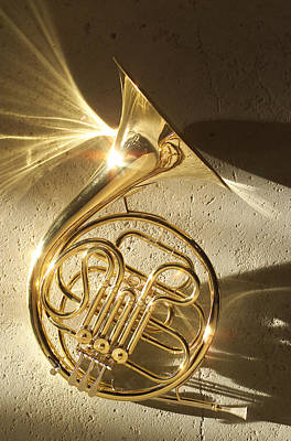 French Horn Photograph - French Horn II by Jon Neidert